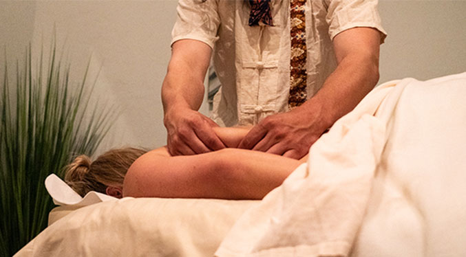 Craniosacral therapy is intended to restore the natural position and alignment of bones and joints in the head, neck and sacrum to alleviate pain.