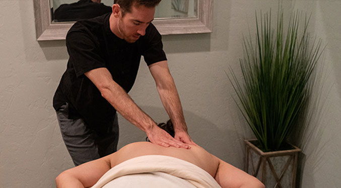 This deep Neuromuscular massage focuses on fingers used to knead individual muscles, increase blood flow and release