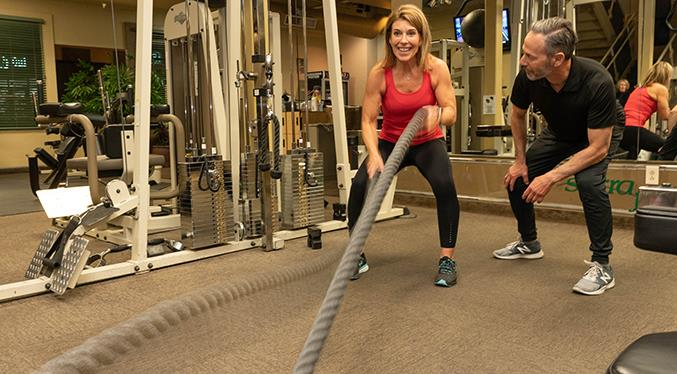 Nothing is better than one-on-one personal training. And it can be fun, too!