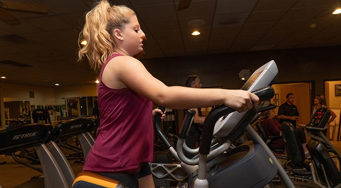 Elliptically speaking, Sierra Fitness offers many.