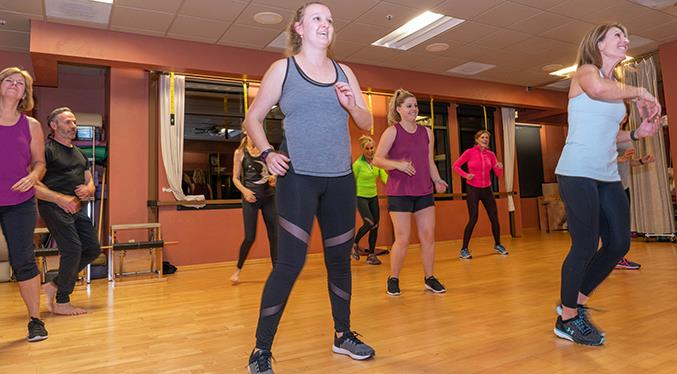 Designed for people of all fitness abilities, ages, sizes and nationalities, Zumba classes boost heart health. Literally Zumba is for