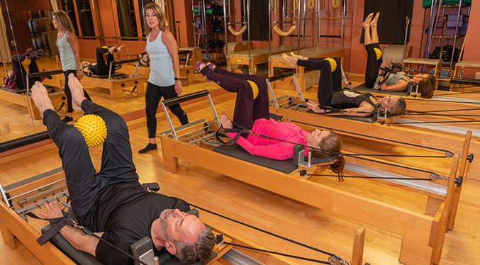 There's nothing like a solid Pilates Reformer class.