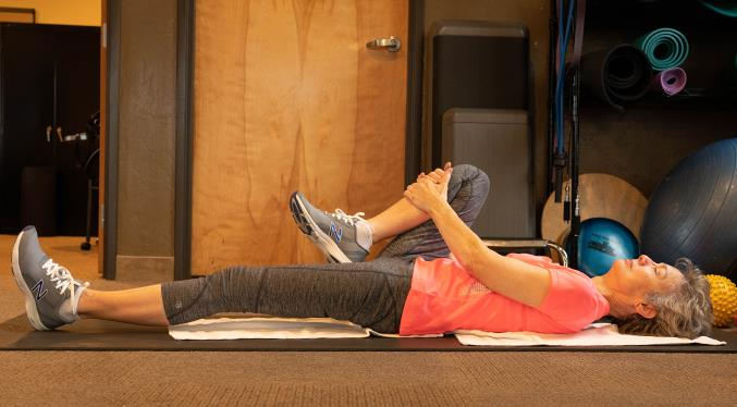 Floor stretches are an excellent way to begin or end a workout.